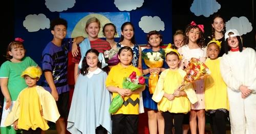 "Windmore Presented ""You're a Good Man, Charlie Brown"" October 2016"