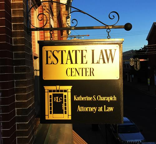 Early Morning at the Estate Law Center on Davis Street in Downtown Culpeper