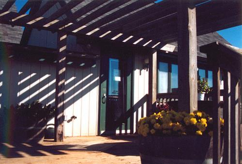 Culpeper Winery Cooperative wine tasting balcony, Culpeper VA