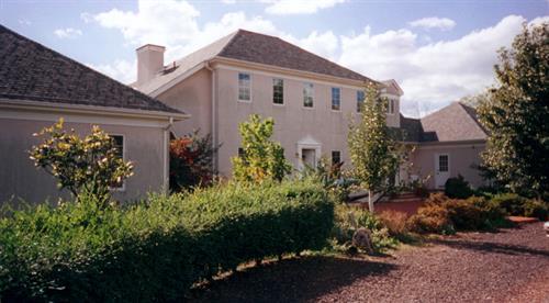 Glengary villa entrance court Rapidan VA