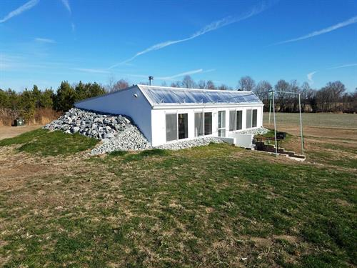 600 sq.ft. Solar Tiny House, Waverly VA