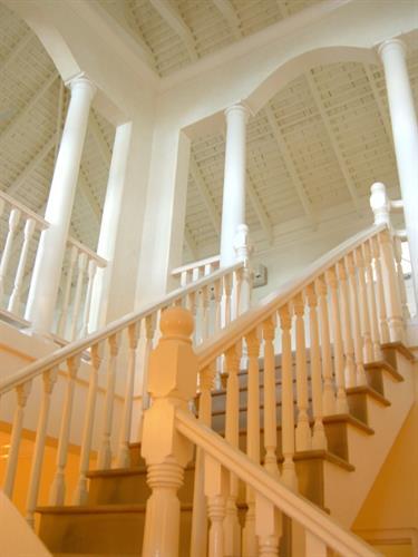 Windward Villa stairway
