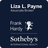 Liza Payne, Associate Broker, Realtor @  Frank Hardy   Sotheby's International Realty
