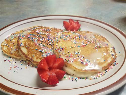 Brunch Mexican Style Pancakes