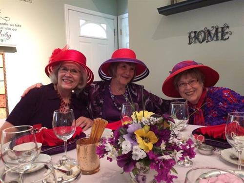 C-Red Hot Divas Tea Party