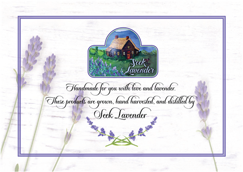 Seek Lavender Products - sweet gifts from nature for you and yours
