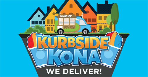 We deliver shaved ice to your house!