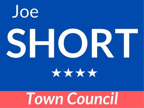 Let Joe know if you'd like a campaign sign for your yard or business!