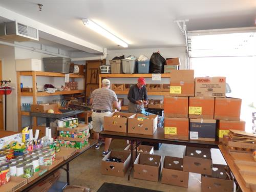 Food Closet ministry serving the Culpeper Community