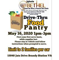 News Release: 5/12/2020 - Drive Through Food Pantry