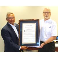 News Release: 7/27/2020 - Kent Farmer, REC's President and CEO, Receives Leadership Award