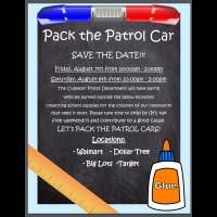 Pack the Patrol Car