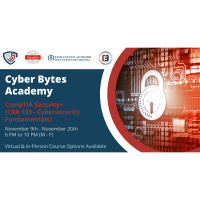 Cyber Bytes Academy announces CBA 103 – Cybersecurity Fundamentals (CompTIA Security+ Competency) co