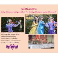 Calling all Princess looking to celebrate their birthday with elegance and Royal Treatment!
