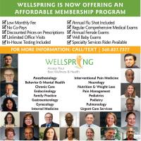 Wellspring is now offering an affordable membership program!