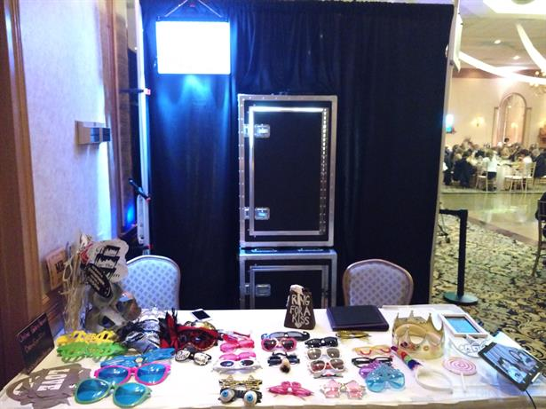 Wedding Enclosed Booth Setup