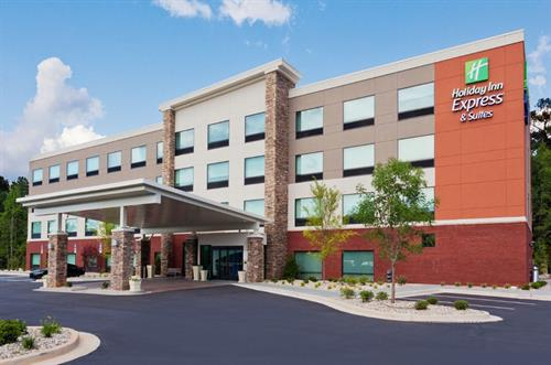 Welcome to the BRAND NEW Holiday Inn Express & Suites Fayetteville
