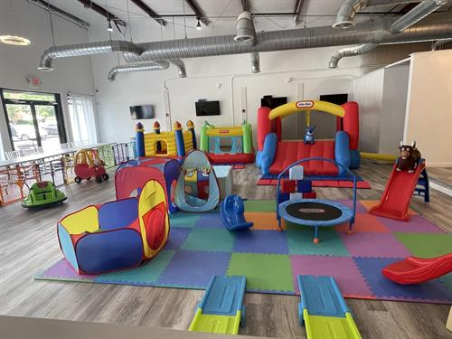 Host your next toddler party with us