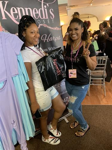 Another happy customer. Thank you for shopping in the Kloset. Pop up Shop 8/14/2021
