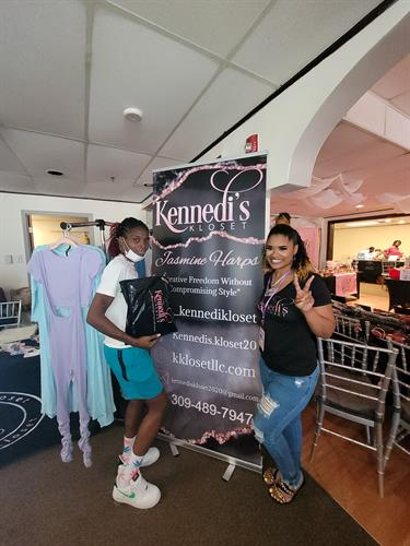Thank you for shopping in the Kloset. Back 2 School Pop up Shop 7/31/2021