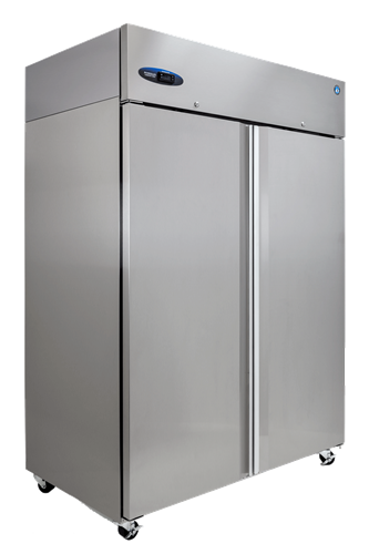 Hoshizaki 2 section stainless door