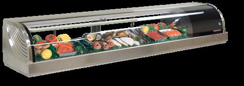 Hoshizaki Sushi Cases