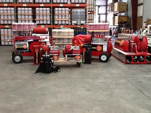 Full line of CAF equipment