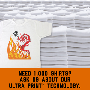 Ultra prints give you complete flexibilty.