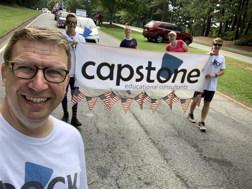 Capstone in Peachtree City's 4th of July Parade - 2019