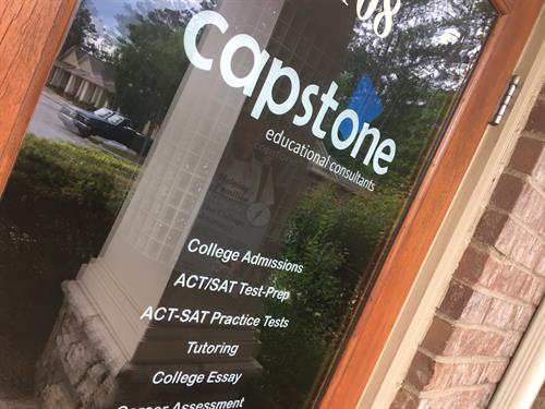 Capstone's Front Door in Peachtree City