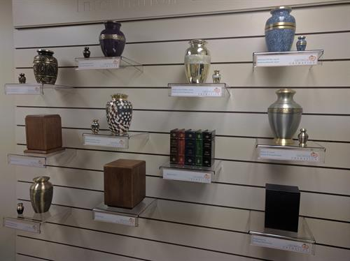Georgia Cremation's Selection of Urns