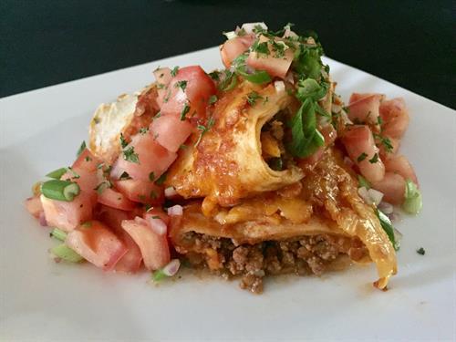 Our fabulous, like no other, enchiladas!