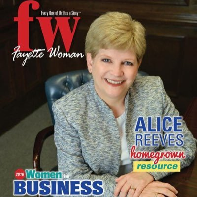 Fayette Woman July 2016 - Alice Reeves