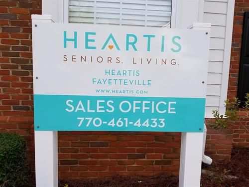 Excited to officially open the Heartis Fayetteville sales office. Come see us!