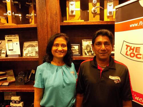 Owners Latha Ravi and Ravi Somasundaram