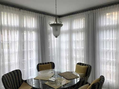 Elegant Sheers - Colonial Sun Room