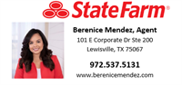Insurance Account Manager- Berenice Mendez State Farm