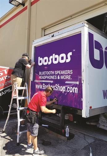 Bos Bos Truck Wrap