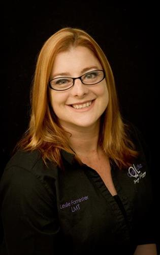 Leslie Forrester, Licensed Massage Therapist