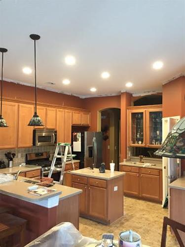 One of our many beautiful kitchen remodels.