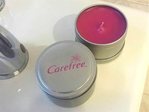 Custom Candles with Customer Provided Scent in Candle Tins