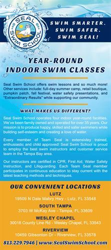 Swim Smarter. Swim Safer. Swim Seal!