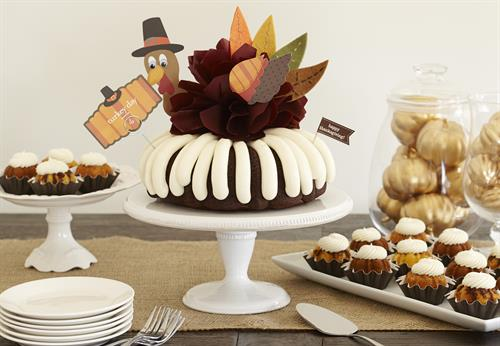 remarkable michigan exposures office thanksgiving decorations | Nothing Bundt Cakes | Bakery/Baked Goods - Greater ...