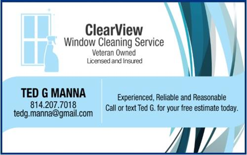 CLEARVIEW WINDOW CLEANING SERVICE VETERAN OWN