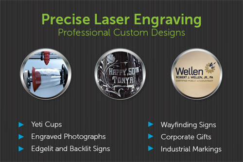 Laser Engraving for Gifts and Promotional Products