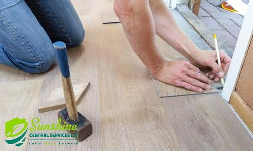 Vinyl, laminate or linoleum we have you covered.