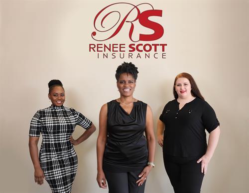 Renee Scott Insurance team photo