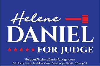 Helene Daniel, Candidate for Circuit Court Judge, Group 30