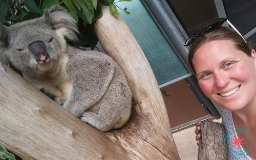 Making new friends in Australia