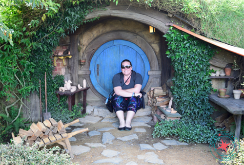 Living at Hobbiton from Lord of the Rings